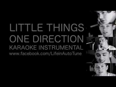 One Direction - Little Things (Karaoke Instrumental) NO BACKING VOCALS