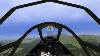 A very successful liftoff and landing of my P-38L plane