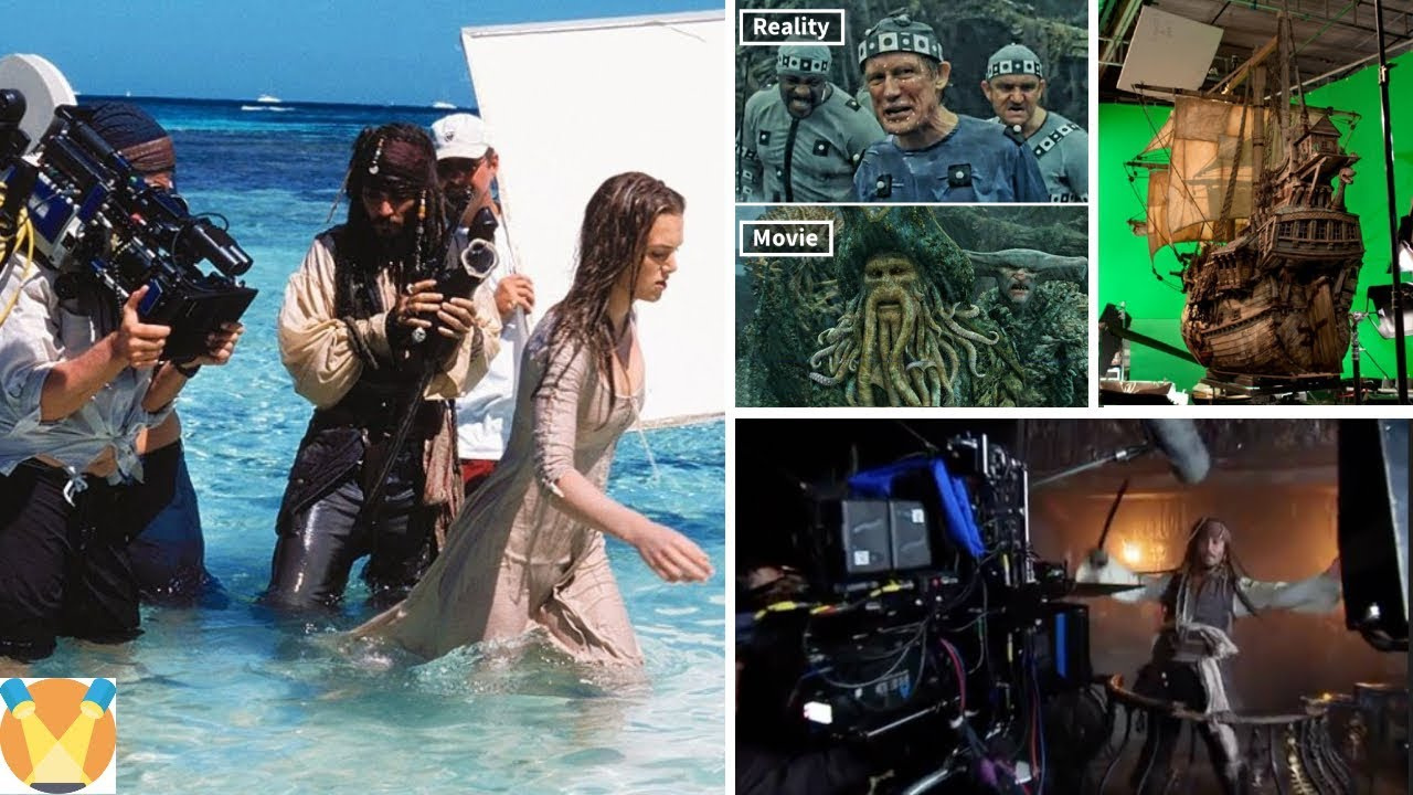 Pirates of the Caribbean: Behind the Scenes - Best Compilation