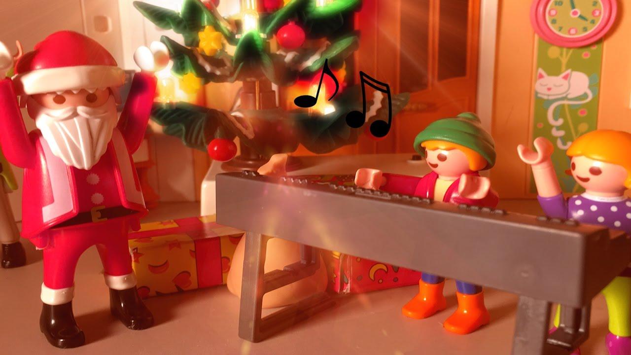 der weihnachtsmann tanzt kinder singen ein kleiner. Black Bedroom Furniture Sets. Home Design Ideas