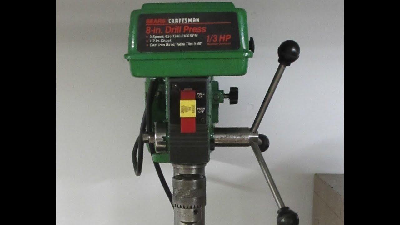 Craftsman Drill Press Vise