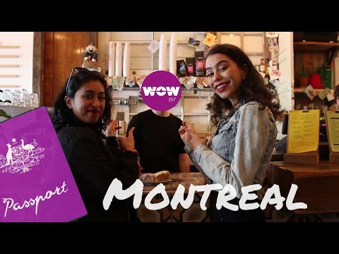 WOW Travel Guide Application // Bonjour Montreal, Canada