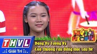 thvl  thu tai sieu nhi - tap 2 con thuong rau dang moc sau he - dang vu tuong vy