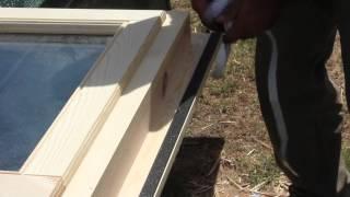 Tkba Timber Kit Buildings Australia Installing The Windows