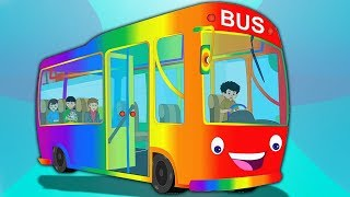 Колеса на автобусе | Детского стишка для детей | Kids Songs Collection | Wheels On The Bus