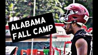Alabama Football Fall Camp Highlights