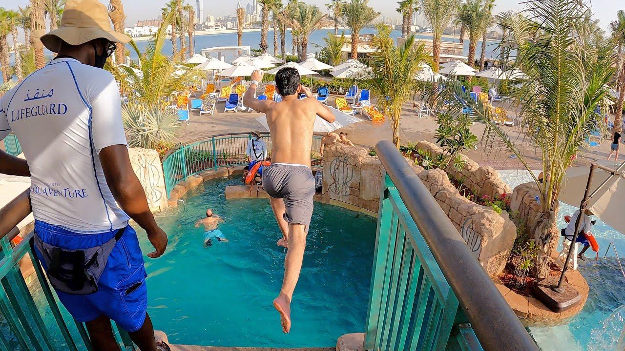 Jumper at Aquaventure Atlantis Dubai