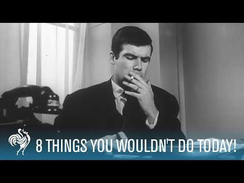 Modern Taboos: 8 Things You Wouldn't Do Today! | British Pathé