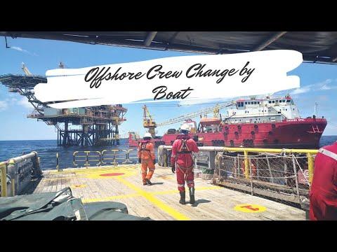 Offshore Boat Ride (Crew Change)