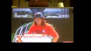 shaun white gold medal run x games 13 skateboarding