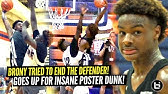 Bronny James AINT SCARED OF CHICAGO&#39S TOUGHEST TEAM!! Goes Up For INSANE POSTER DUNK!!!