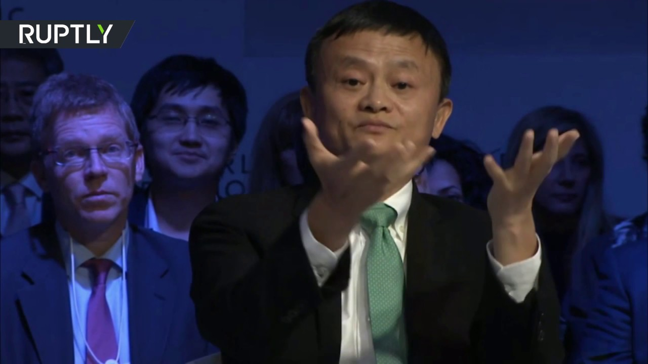 Nobody Stealing Your Jobs You Spend Too Much On Wars Alibaba Founder To Us