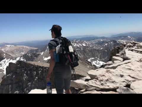 Hiking Mt Whitney 7-21-17