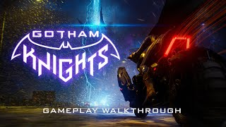 Watch the first #gameplay walkthrough of #gothamknights in #4k. get a glimpse open-world gotham city where #batgirl and #robin join forces to take on #mrf...