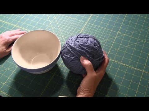 Yarn Holder (Quick Tip)