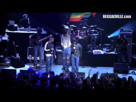 Damian Marley & Nas - Count Your Blessings in Brussels, Belgium 4/4/2011