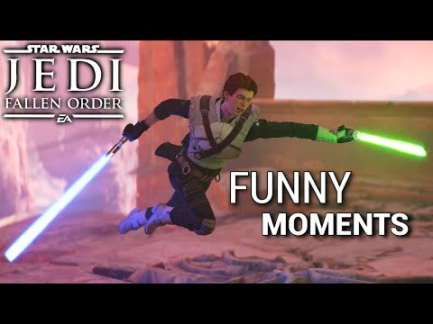 Star Wars Jedi Fallen Order - Funny Moments #4