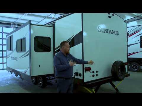 Sundance 262RB Travel Trailer Interior Walk Around with Rob Reid
