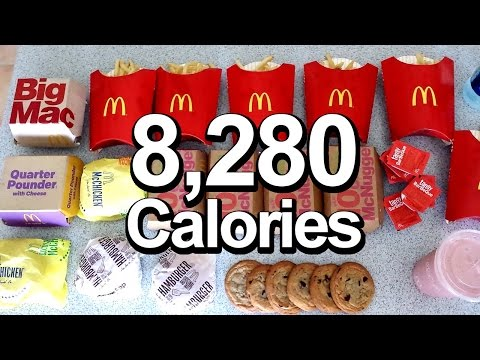 2016 Olympic Cheat Meal Challenge (Sawan Serasinghe's McD's Feast)