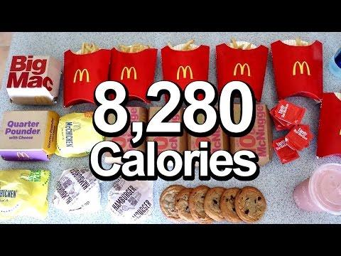 2016 Olympic Cheat Meal Challenge (Sawan Serasinghe's McD's Feast)