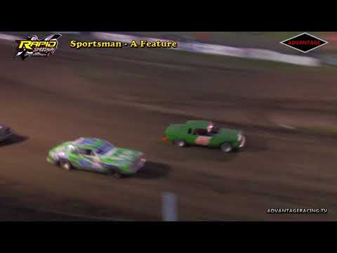 Sportsman Heat/Feature - Rapid Speedway - 5/18/18