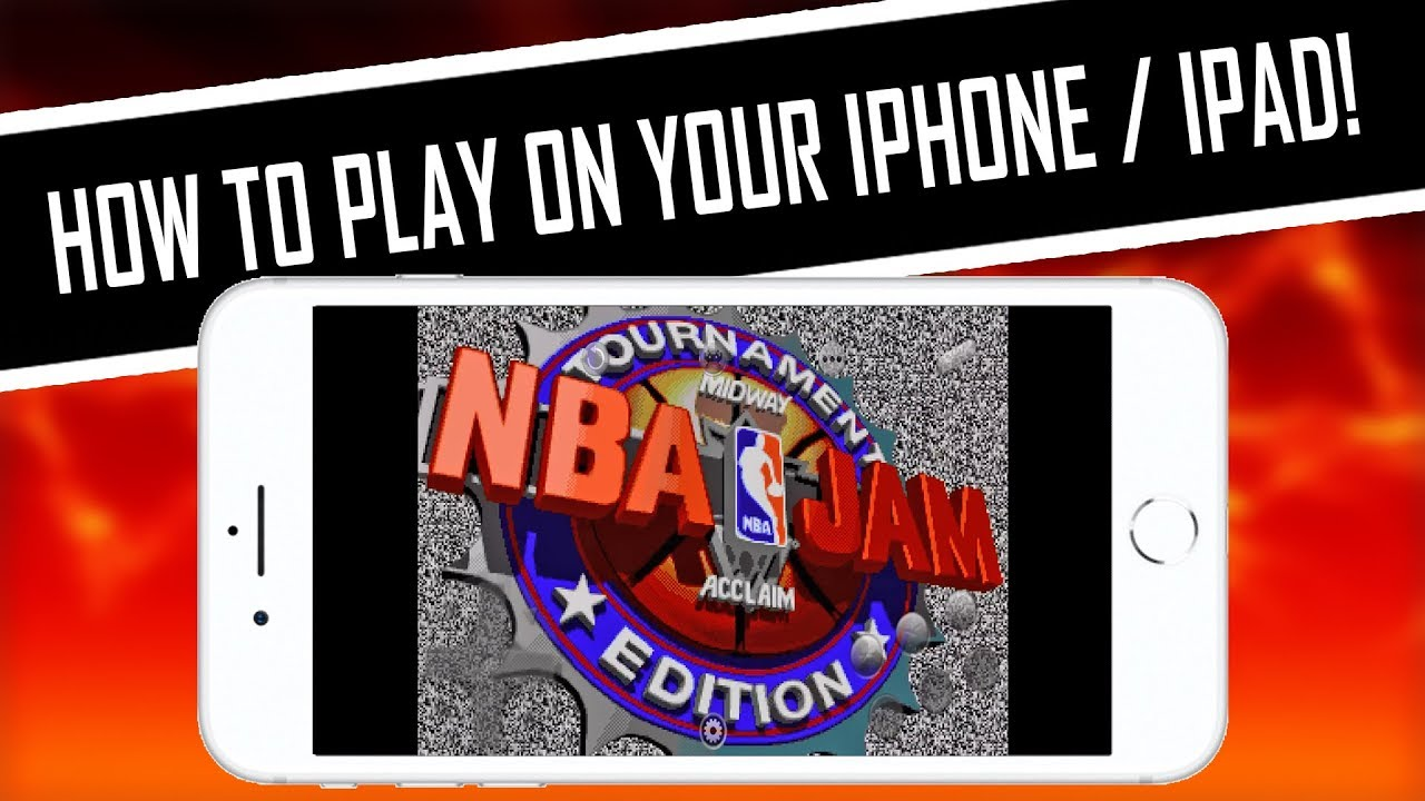 HOW TO PLAY NBA Jam TE (Genesis) on iPhone, iPad, iPod ...