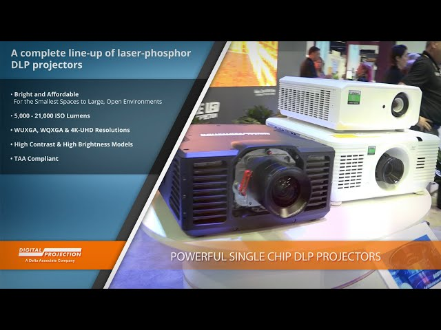 The Bright and Affordable Single Chip DLP Projector Line from Digital Projection