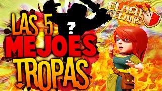 Las 5 MEJORES Tropas de Clash of Clans | Clash of Clans en Español