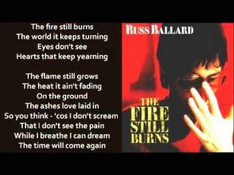 Russ Ballard - The Fire Still Burns (+ lyrics 1985)
