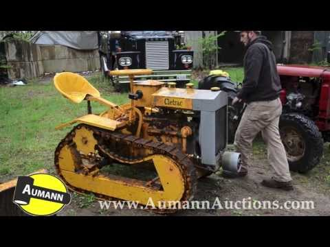 Cletrac Model F Crawler Tractor - Ken Avery Antique Tractor Collection Auction