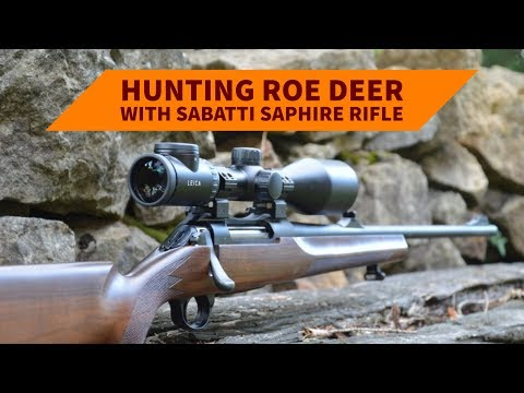 Hunting roe deer with Sabatti SAPHIRE rifle