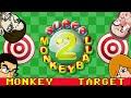 Super Monkey Ball 2 Mini Games (4 Player) Part 1 - Monkey Target