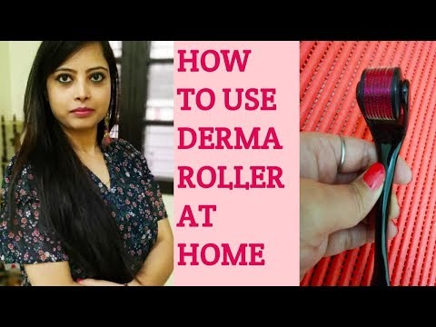 Derma Roller In Hindi| Derma Roller Use In Hindi|What Is Derma Roller in hindi|Microneedling