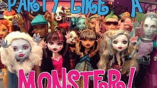 "Monster High ""Party Like A Monster"" Music Video"