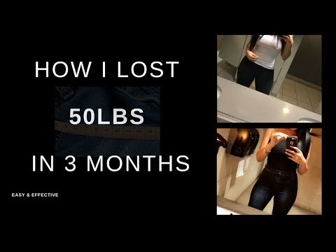 Part 1 | How to lose 50LBS in 3 months! | My weight loss 🙌🏼💡