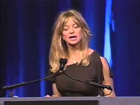 Goldie Hawn: Dancing and Being Happy - YouTube