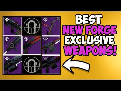 Destiny 2 | Ranking All 7 Forge Exclusive Weapons! Worst to Best! thumbnail