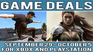 Game Deals of the Week - September 29 - October 5 - For Xbox and PlayStation