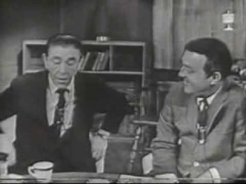 STRICTLY FOR LAFFS.  Moe Howard of The Three Stooges Segment from Unsold 1961 TV Series.