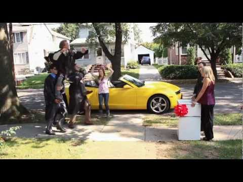 Chevy Happy Grad - Chevy Super Bowl XLVI Ads - Chevrolet Commercial