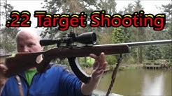 .22LR Target Shooting Practice