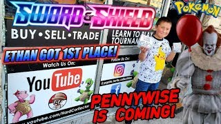 Ethan Won First Place At The Sword & Shield Prerelease! Opening New Pokemon Card Booster Box & Packs