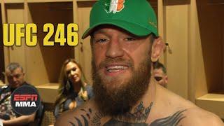 Conor McGregor emotional after Cowboy Cerrone TKO win at UFC 246 | ESPN MMA