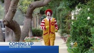 Creepy Clown Sightings Hurting Ronald McDonald's Marketability