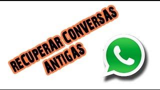[DE 2015 ]Recuperar Conversas Whatsapp de 5 dias atras ( Crypt 8)