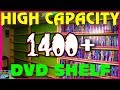 How to Build a 1400+ High Capacity DVD and GAME SHELF, PS2, XBOX, SEGA Saturn - Retro GP