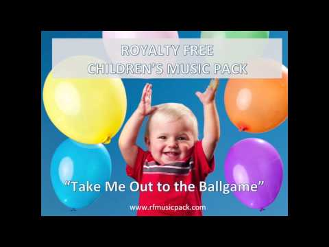 Royalty Free Music - 2015 Instrumental Background - Take Me Out To The Ballgame