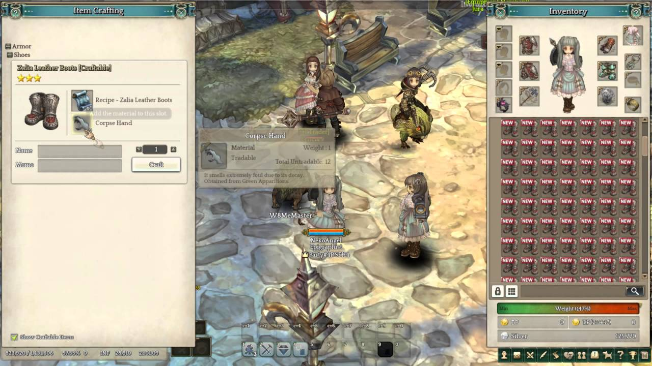 Tree Of Savior ToS Craft Times Achievement YouTube - Hairstyle color tree of savior