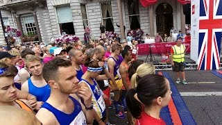 The British 10k London Run, 2015