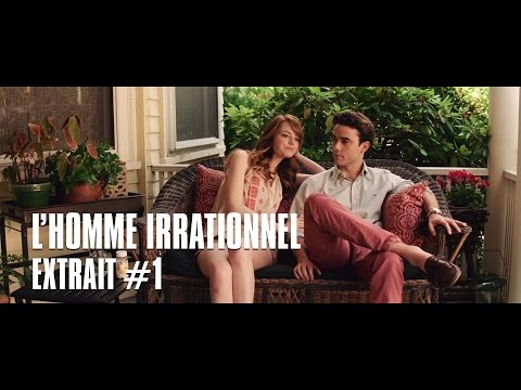 L'homme irrationnel de Woody Allen  Extrait 1 Emma Stone & Jamie Blackley